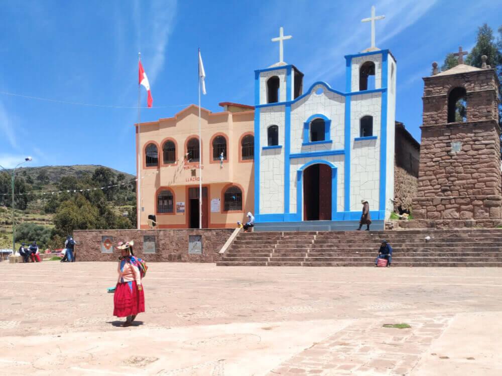 Jeioro titicaca wioska llachon
