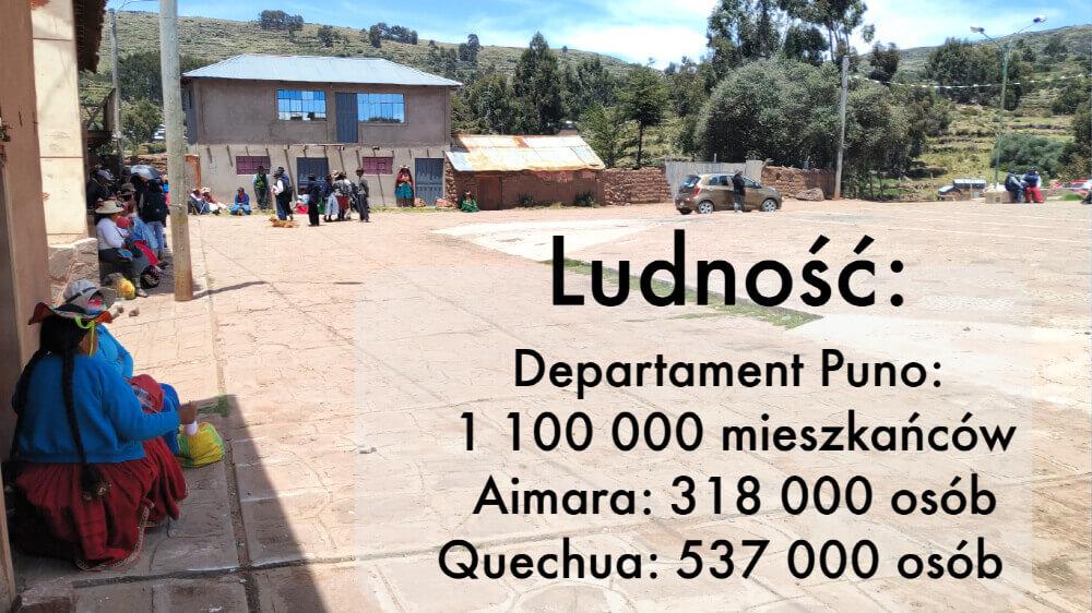 Peru ludność indianie ajmara quechua