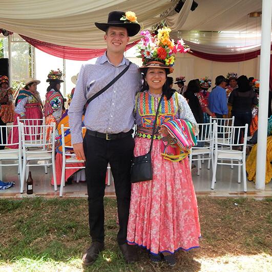 Feel Peru Travel na weselu w Peru