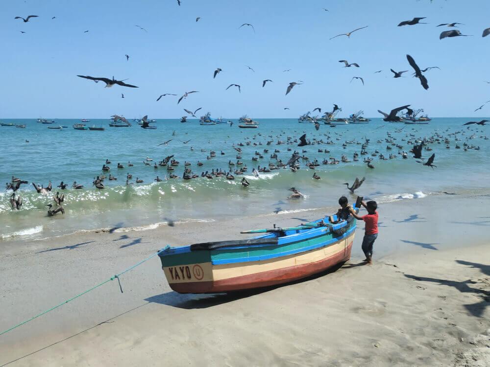 plaża zorritos peru