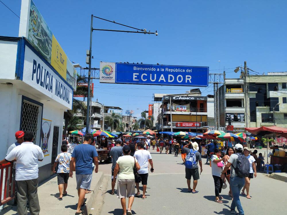 granica peru ekwador