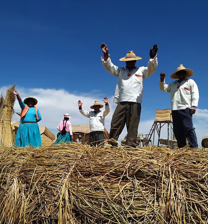 indianie jezioro titicaca
