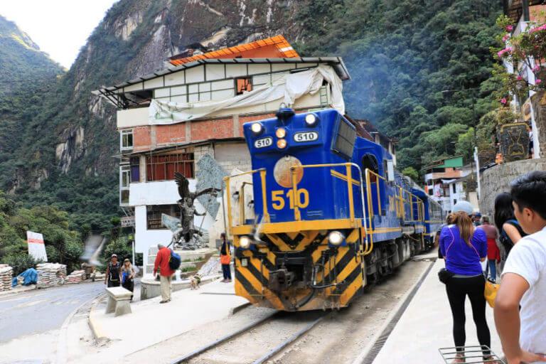 Pociag do Machu Picchu