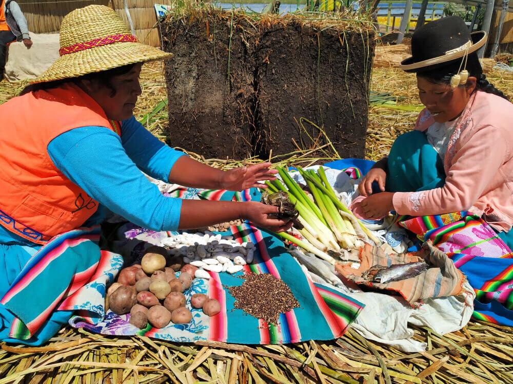 Indianie w Peru.