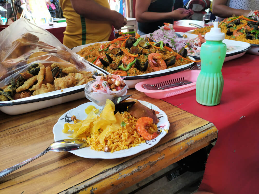 Tumbes targowisko kuchnia peruwiańska