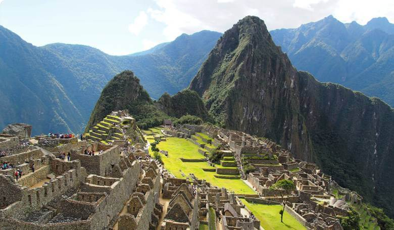 Widok na Machu Picchu (maczupikczu)