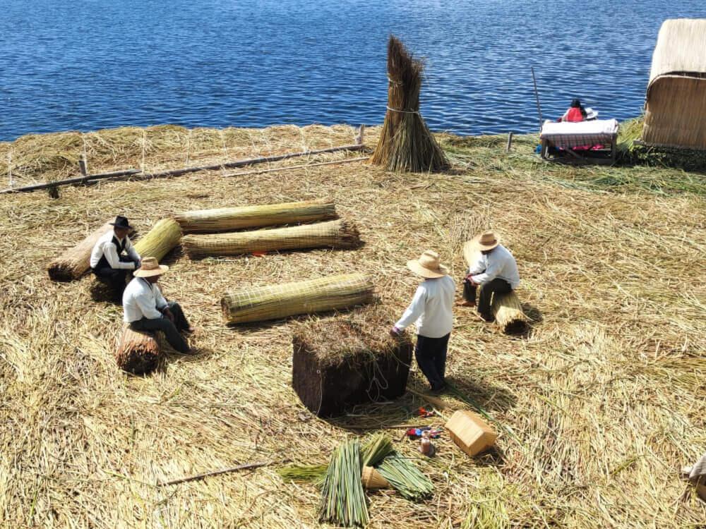 wyspy titino uros jezioro titicaca
