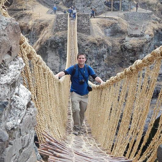 wycieczka do peru cuzco most queswachaca Pawel Wilk