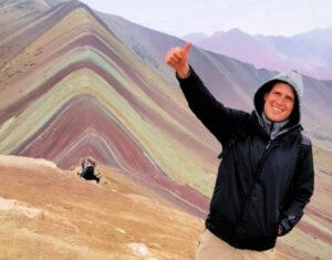peru wycieczka tęczowe góry