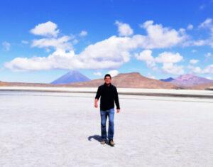 jezioro laguna salinas w peru