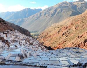 Salinas de maras peru wyprawa