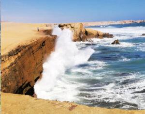 Peru plaże marcona