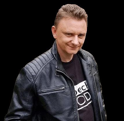 Tomasz Szczerba z miłośći do inków