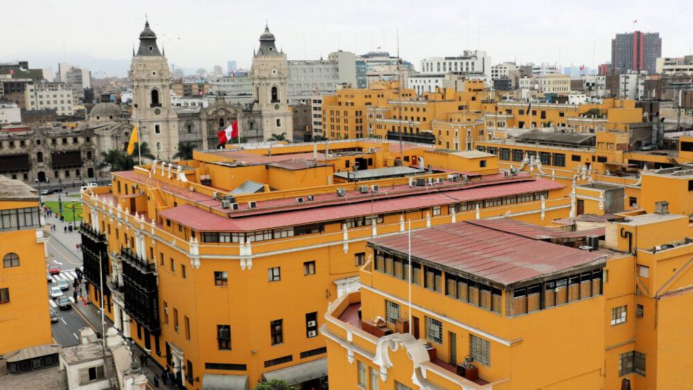 Lima stolica Peru