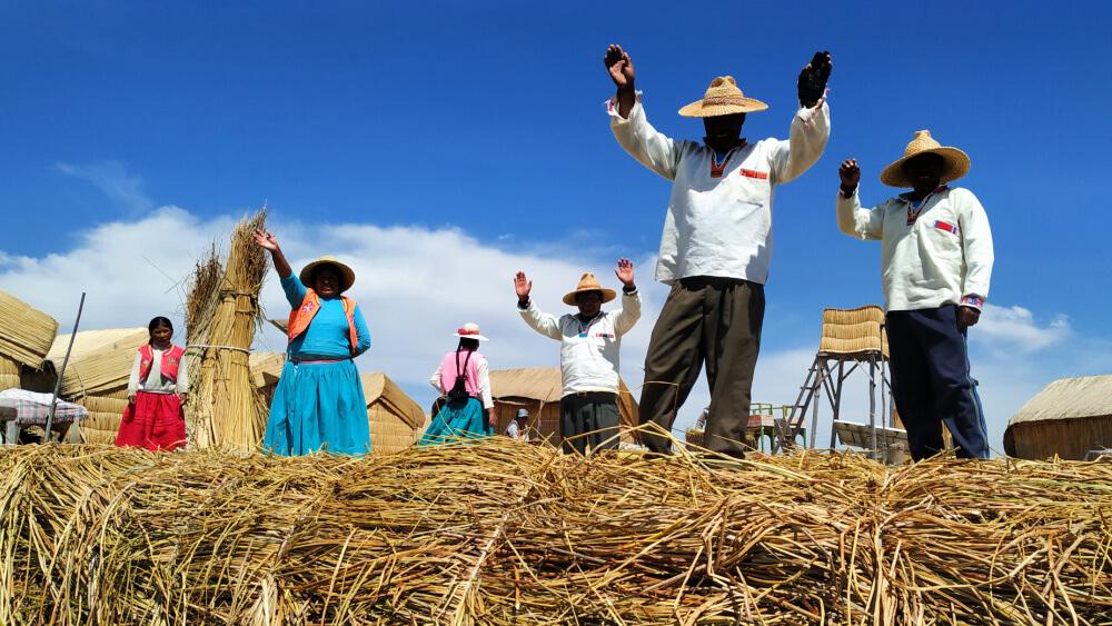 państwo inków jezioro titicaca