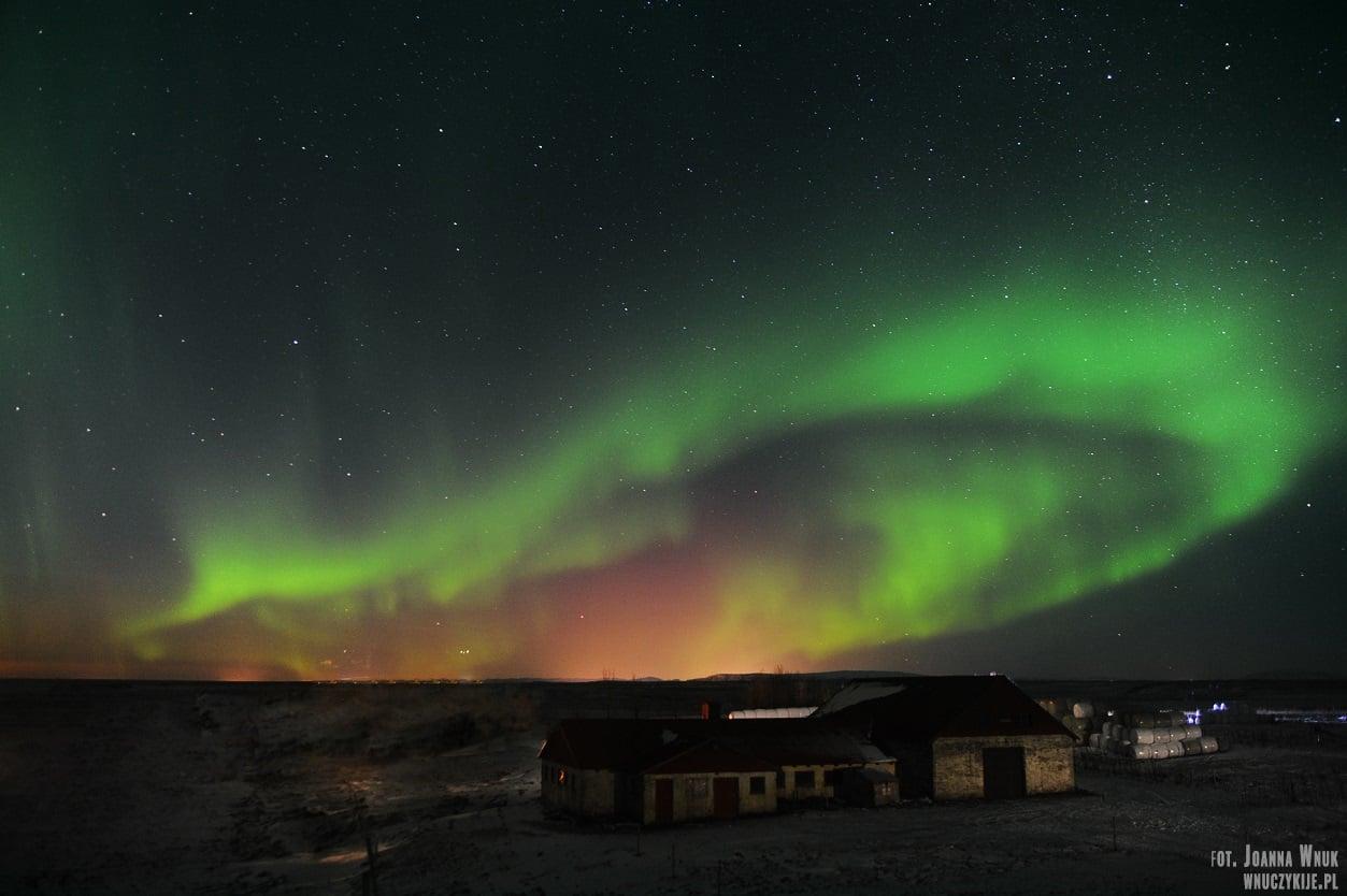 wycieczka na islandię zorza polarna