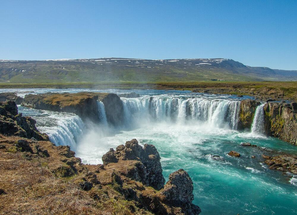 wycieczka do islandii wodospady