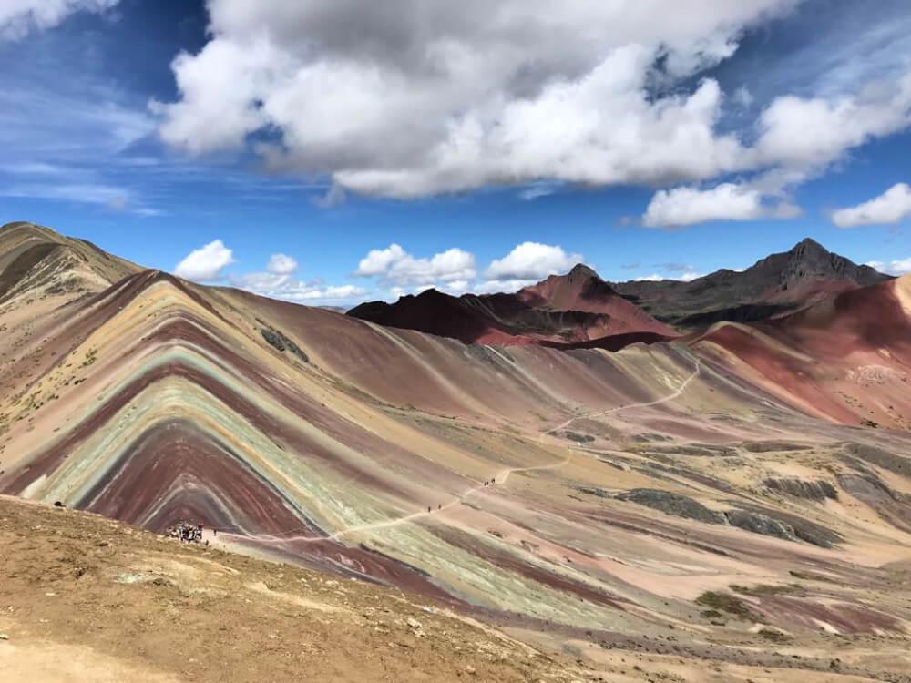 kolorowe góry peru