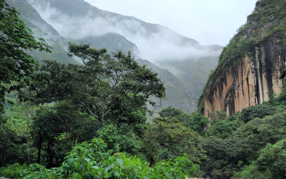 ameryka południowa selva droga do machu picchuu