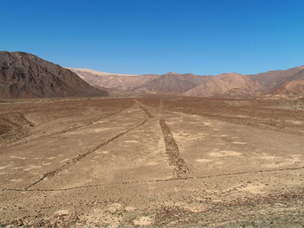 linie nazca z bliska
